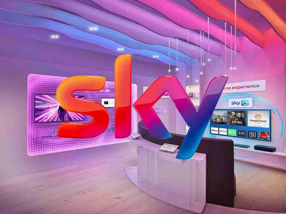 1° negozio Sky d'Italia CST