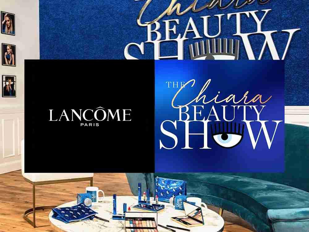 allestimento scenografia evento live the chiara beauty show lancome chiara ferragni cst group italia