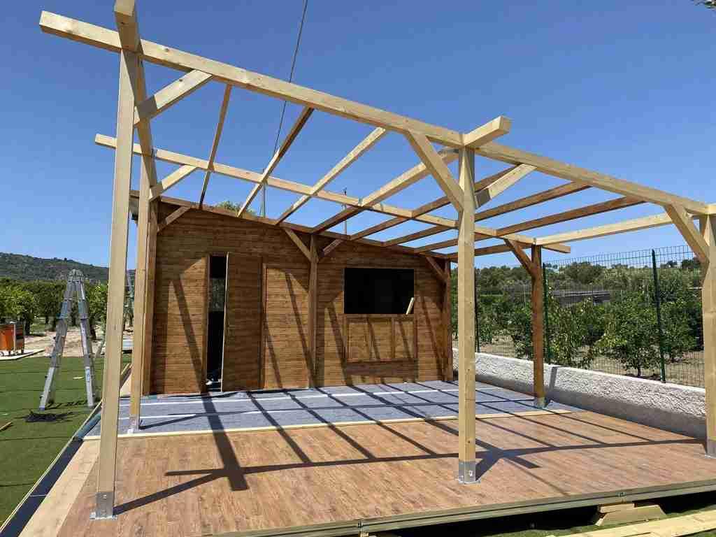 progettazione e realizzazione dehor in legno leisure cst group italia 4