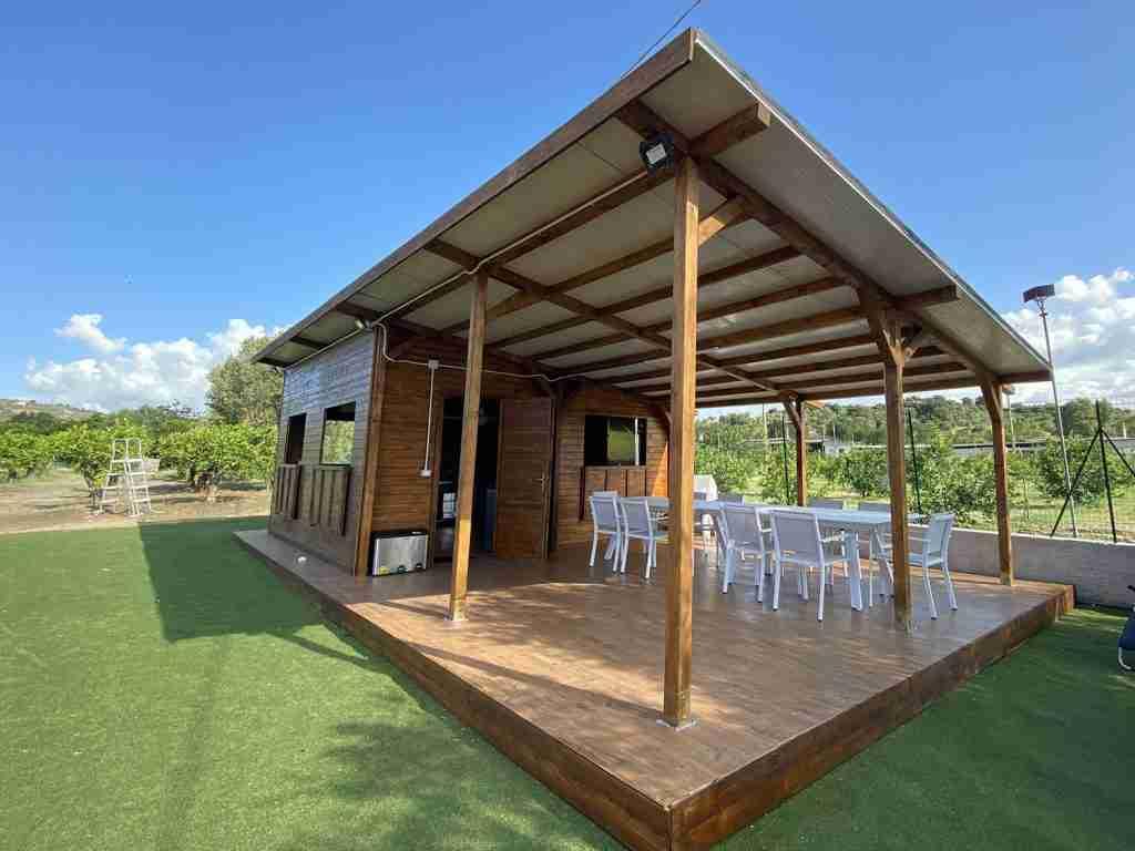 progettazione e realizzazione dehor in legno leisure cst group italia 8