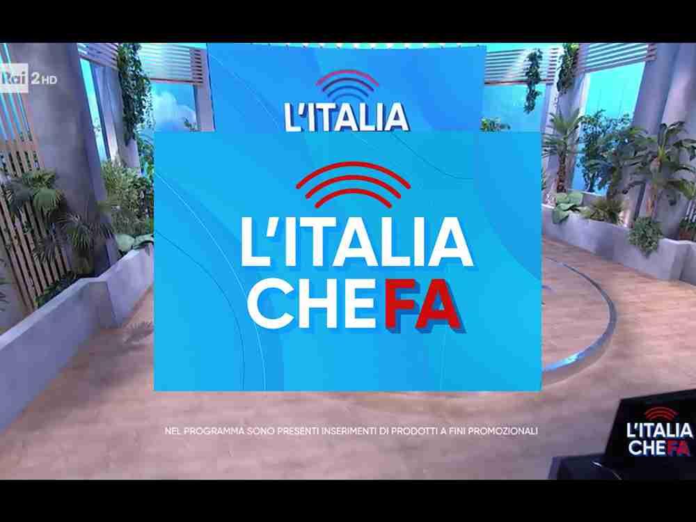 scenografia televisiva l'italia che fa rai 2 cst group italia